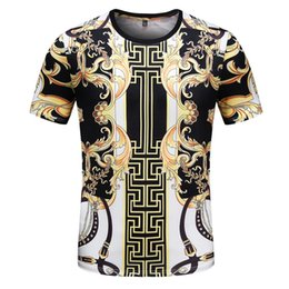 Wholesale crew clothing mens sale online – design Mens Designers T shirts Hot Sale T Shirts for Men Women Short Sleeve Tee Shirt Clothing Letter Pattern Printed Tees Crew Neck V88