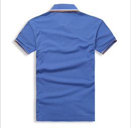 Wholesale mixed polo shirts for sale – custom Male designer POLO shirt is comfortable with mixed cotton men s wear size S XL
