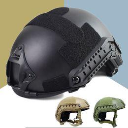 Qualidade Militar Tactical Capacete Rápido MH Capa Casco Airsoft Capacete Acessórios de Esportes Paintball Rápido Salto Protetor em Promoção
