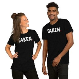 NEW TAKEN IM HIS. IM HERS MATCHING S HIS AND HERS COUPLE S USA SIZE T-SHIRT EN