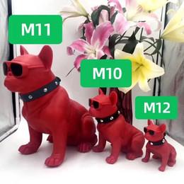 Опт Bluetooth-динамик собаки головы бульдога подарочные украшения Беспроводная M11 карта M10 мультфильм M12 внешнее торговое аудио Creative