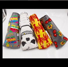 Wholesale buy tops online – design buy more head cover see options reservation golf headcover fashion pu leather golf putter cover top quality factory customized golf cover