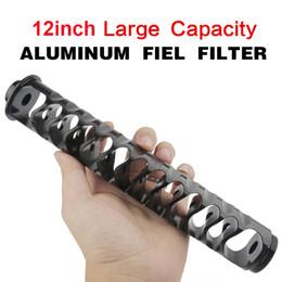 Nuevo 1 / 2-20 1/2-28 5 / 8-24 6inch-pequeño 6 pulgadas Big 10 pulgadas con filtro de combustible de combustible de aluminio único para NAPA 4003 WIX 24003 en venta