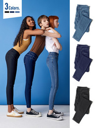 Wholesale raw wash jeans resale online - SEMIR Women Cropped Skinny Jeans Raw edge Hem Retro Style Women Ankle Jeans Washed Denim pants for woman CX200815