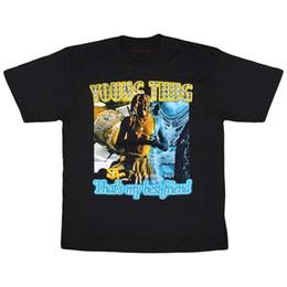 Men Fashion Special Rare Marino Morwood Young Thug T Shirt Tee Sz S 2xl Summer Youths Black Tshirt