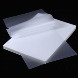 Pochette / feuilles de plastification de plastification A4 70mic Protection pour la photo de papier photo de papier photo JK2008XB en Solde