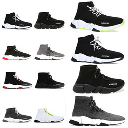 Groihandel 2020 designer sock sports speed 2.0 trainers trainer luxury women men runners shoes trainer sneakers hommes femme  femmes baskets  chaussures balenciaga balenciaca balanciaga