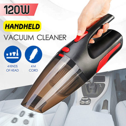 Wholesale Car Vacuum Cleaner Portable Handheld Cordless Car Plug 120W 12V 5000PA Super Suction Wet Dry Vaccum Cleaner for Car Home