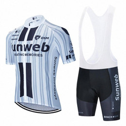 2020 2020 White Sunweb Cycling Jersey 20D Bike Shorts Set Mtb Ropa Mens Summer Quick Dry Pro BICYCLING Shirts Maillot Culotte Clothes glET#