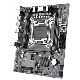 Toptan satış Tablet PC Anakartları Jingsha X99 M-G Anakart LGA 2011-3 Destek 4 * DDR4 2133/2400 MHz Sunucu Memoryand NVME M.2 USB3.0 SATA 3.0 E5-2011V
