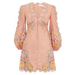 Весна и лето 2020 нового австралийский роскошного дизайна ниши темперамент элегантного фея V-образный вырез супер фея платье на Распродаже