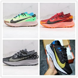 2020 nike Zoom Pegasus Trall 2 Moon Landing Series Mesh Breathable Shock-Absorbing Marathon Casual Sneakers Men's Shoes Running Shoes CK4305-700 indirimde