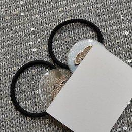 venda por atacado novo transparente com strass c de metal Acessórios coleção de itens cabelo Acrílico corda de boa qualidade Acessórios de cabelo com cartão de papel VIP