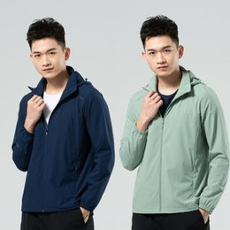 Wholesale si jackets resale online – Wind Snow Wolf spring and autumn thin jacket men s and women s large size quick drying breathable stretch single coat with outdoor sports Si
