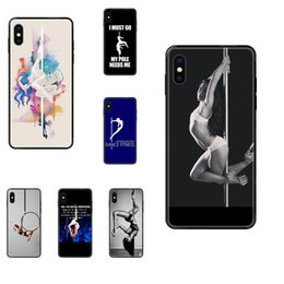 pole for dance Australia - Pole Dancing Fitness Special Luxury Phone Case For Apple iPhone 11 12 Pro XS Max XR X 8 7 6 6S Plus 5 5S SE