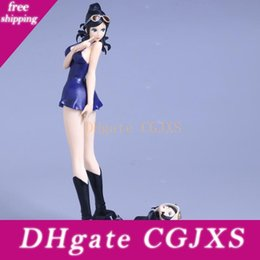 one piece figure nico robin Australia - One Piece Figure Japanese Cartoon One Piece Nico Robin Pvc 25cm Action Figures Kids Toys Japanese Anime Figurine Doll With Box