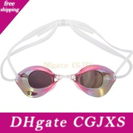 games race Australia - Swimming Goggles Pool Spectacles Professional Glasses Arena Swimming Racing Game Swimming Anti -Fog Glasses For Men &Women