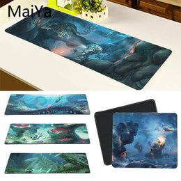 free rubber mouse Australia - Maiya High Quality Subnautica Game Office Mice Gamer Soft Mouse Pad Free Shipping Large Mouse Pad Keyboards Mat