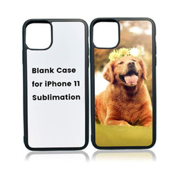 Wholesale free housing for sale - Group buy 10pcs Retail D Sublimation Blank Phone Case Hard PC for iPhone Pro Xr Xs Max Back Housing with Aluminum Sheet