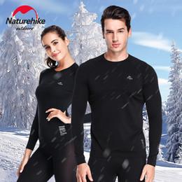 Wholesale warm underwear resale online - Naturehike Coolmax Warm Underwear Panties Unisex Autumn And Winter Quick drying Thermal Sport Underwear Moisture Wicking