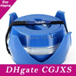 accessories water bag UK - Outdoor Portable 5l Water Bag Collapsible Camping Water Bucket Beer Container Blue Hiking Cycling Bicycle Water Bag Accessory