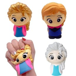 sister doll Canada - Squishy Colorful Sister Princess Squishy Girl Doll Squeeze Toys Squishy Slow Rising Squishi Stress Relief For Kid Gif