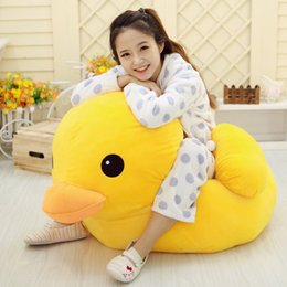 Yellow Duck Doll Large Plush Toy Doll Pillow Cartoon Childrens Doll Female Birthday Gift on Sale