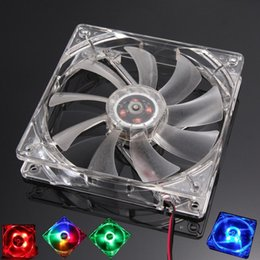fan mod Australia - cgjxs 2pcs  Lot Pc Computer Fan Quad 4 Led Light 120mm Pc Computer Case 12v Cooling Fan Mod Quiet Molex Connector Easy Installed Fan Colorfu