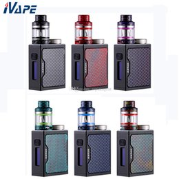 vape mod box tank Australia - Aleader Funky 80W kit with Funky Subohm Tank 2ml & Funky 80W TC Vape E Cigarette Box Mod 5-80w Powered by single 18650 Battery