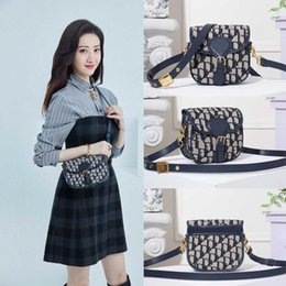 beaded blue bag NZ - 2021 newborn dioss BOBBY luxury womens girls designer classic flap bag Monograms Messenger Shoulder bag bumbag crossbody handbag  000 8KRp#