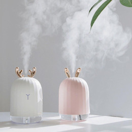 mini usb ultrasonic air humidifier UK - Mini Usb Ultrasonic Air Humidifier Purifier Aroma Essential Oil Diffuser Aromatherapy Mist Maker Nebulizer For Home Bedroom Car Office