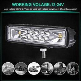 LED 18W Parole Car Light LED Light Work Projecteur Offroad phares US en Solde