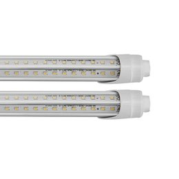 LED Bulbs Tubes 4ft LED lights 36W warm white T8 Fluorescent Light transparent and creamy white shade