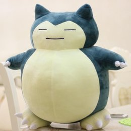 snorlax soft toy UK - 30cm 50cm Plush Snorlax Plush Toys Lovely Super Soft Stuffed Animal Dolls Gift For Children