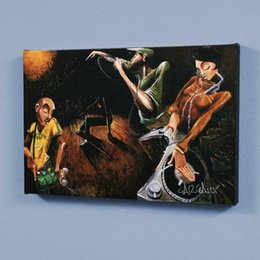 Wholesale got print online – design David Garibaldi The Get Down Home Decoration Handpainted HD Print Oil Painting On Canvas Wall Art Canvas Pictures Wall Decor