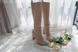 sexy style high knee boots Australia - New Style Classic Fashion Design Woman Sexy Knee-High Boots High Heels Women Boots Shoes High Quality Pumps Shoes Winter Boots T200826