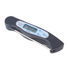types food thermometers NZ - TP108 Foldable Food Thermometer Barbecue Probe Type Temperature Gauge