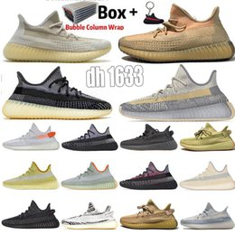 Discount kanye west new sneakers 2020 New Arrival Size13 ABEZ Eliada Sulfer Kanye West V2 Running Shoes 3M Black Reflective Yechiel Tail Light Women Mens