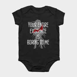 t shirt funny baby NZ - Baby Onesie Baby Bodysuits kid t shirt Fashion Cool Funny Izuru Kamukura Customized Printed