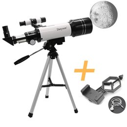 kid telescopes NZ - Cgjxs F40070m Hd Astronomical Telescope With Tripod Monocular Moon Bird Watching Kids Gift Match Phone Adapter T191022