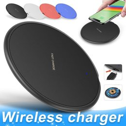 Wholesale wireless charger apple for sale - Group buy 10W Fast Wireless Charger For iPhone Pro XS Max XR X Plus USB Qi Charging Pad for Samsung S10 S9 S8 Edge Note with Retail Box MQ50