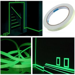 tape glow NZ - Roll Luminous Tape Self-adhesive Glow In The Dark Safety Stage Home Decorations Warning Tape