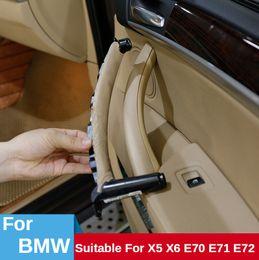 Wholesale 51416969403 Car Interior Door Handles Inner Door Panel Handle Pull Trim Cover Fit for BMW E70 X5 X6 E71 E72 51416969403