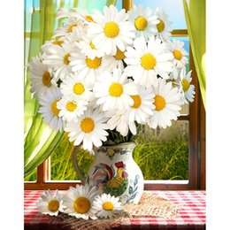 sunflower pictures Canada - Diamond Painting Full Square New Arrival Sunflower Embroidery Sale Diamond Mosaic Picture Rhinestone Home Decor Drop Ship