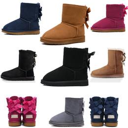 Fashion designer boots Australian women's classic boots winter Snow Winter slipper botas fur boot new
