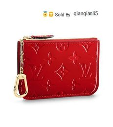 Wholesale exotic fashion dresses for sale - Group buy qianqianli5 U7Z9 KEY POUCH M90214 NEW WOMEN FASHION SHOWS EXOTIC LEATHER BAGS ICONIC BAGS CLUTCHES EVENING CHAIN WALLETS PURSE