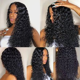 cheap human hair lace fronts UK - 30 Inch Deep Wave 13x4 Lace Front Human Hair Wigs 4x4 Closure Wig Pre Plucked Brazilian Human Hair Wig For Women Cheap Wholesale