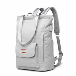 PU Leather Backpack Campus School Bookbag Purse Travel Daypack for Women NSHUN Travel Laptop Backpack College Bookbag Color : Gray