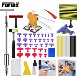 dent board Australia - FURUIX PDR Paintless Hail Removal Dent Puller Lifter PDR Tools Tap Ding Hammer Line Board HAND TOOLSET fsCN#