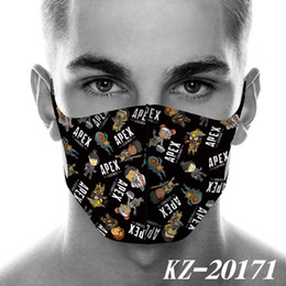 Wholesale apex legends cosplay for sale – custom 2020 NEW face mask Apex Legends Surrounding the Game Printed face Mask Dustproof Masks Cartoon Fashion Mask Cosplay